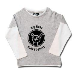 T-shirt skate enfant my first metal shirt