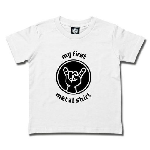 T-shirt enfant MY FIRST METAL SHIRT