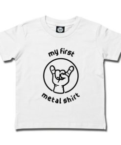 T-SHIRT MY FIRST METAL SHIRT (INVERS)
