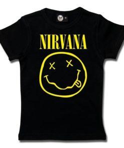 T-Shirt Fille Nirvana (Smiley)