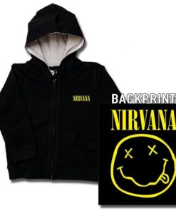 Veste enfant Nirvana (Smiley)
