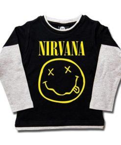 T-shirts Skate enfant Nirvana (Smiley)