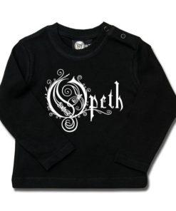 T-shirt bébé manches longues Opeth (Logo)