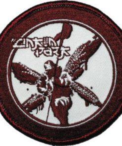 Patch LINKIN PARK kanji w/soldier