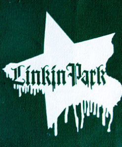 Patch LINKIN PARK WHITE STAR