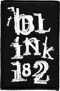 Patch BLINK 182 STACKED