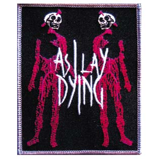 Patch As I Lay Dying Skeleton lovers