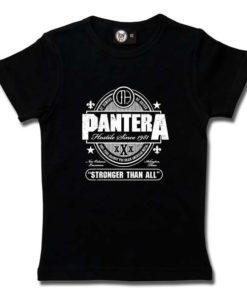 T-Shirt Fille Pantera (Stronger Than All)