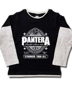T-shirts Skate enfant Pantera (Stronger Than All)