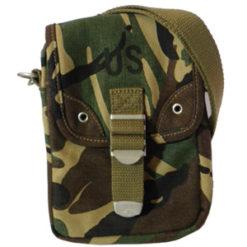 Sac pochette logo US camouflage