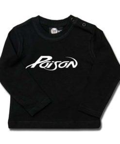 T-shirt bébé manches longues Poison (Logo)