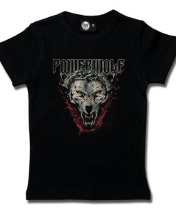 T-Shirt Fille Powerwolf (Icon Wolf)