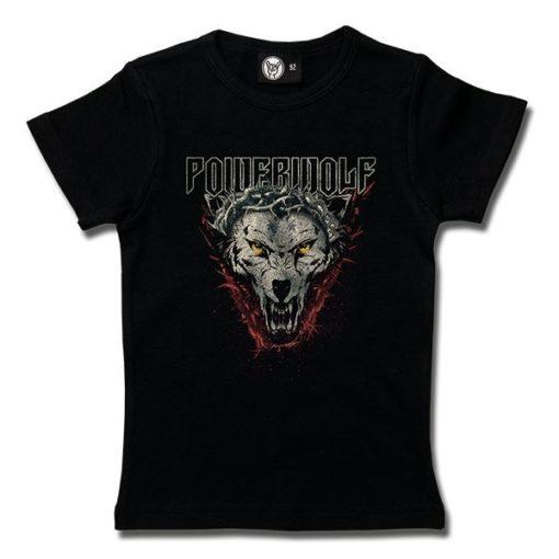 T-Shirt Fille Powerwolf (Icon Wolf)
