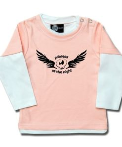 T-shirt Skate Bébé princess of the night