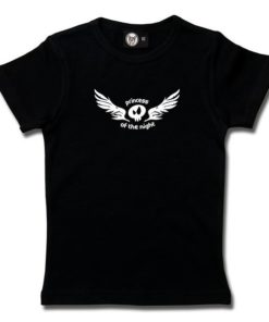 T-Shirt Fille princess of the night