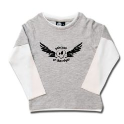 T-shirt skate enfant princess of the night