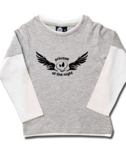 T-shirt skate enfant princess of the night