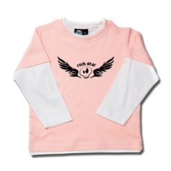 T-shirt skate enfant rock star