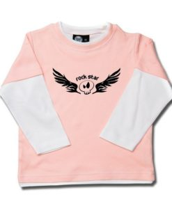 T-shirt skate enfant rock star