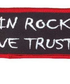 Patch IN ROCK WE TRUST