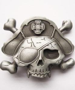 Boucle de ceinture Pirate Skull