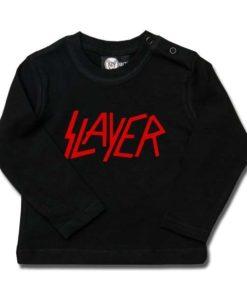 T-shirt bébé manches longues Slayer (Logo)