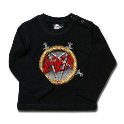 T-shirt bébé manches longues Slayer (Pentagram)
