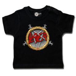 T-shirt bébé Slayer (Pentagram)