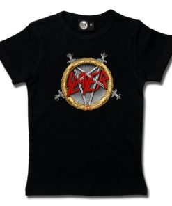 T-Shirt Fille Slayer (Pentagram)