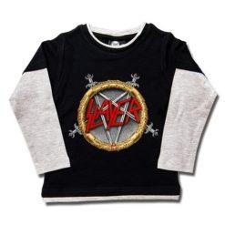 T-shirts Skate enfant Slayer (Pentagram)
