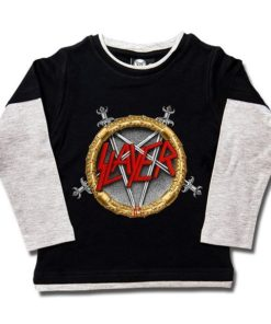 T-shirts Skate enfant Slayer (Pentagram)