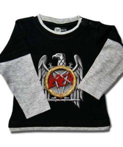 T-shirt Skate Bébé Slayer (Silver Eagle)