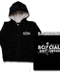 Veste enfant Social Distortion (Checkered Skellie)