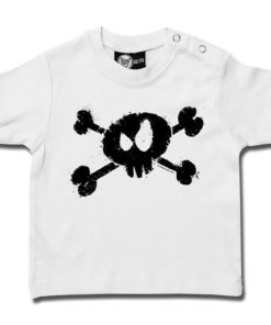 T-shirt bébé splashed skull
