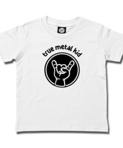 T-SHIRT TRUE METAL KID