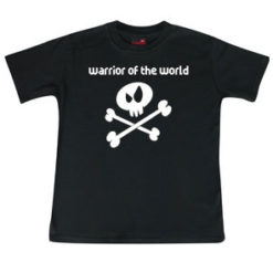 "T-shirt enfant ""warrior of the world"""