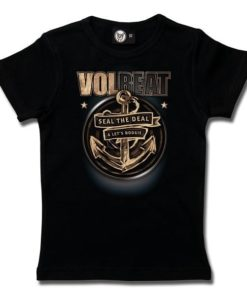 T-Shirt Fille Volbeat (Anchor)