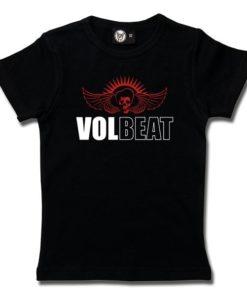 T-Shirt Fille Volbeat (SkullWing)
