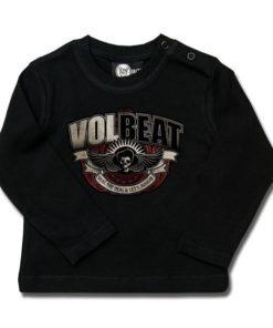 T-shirt bébé manches longues Volbeat (SkullWing Boogie)