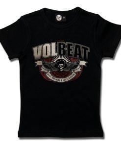 T-Shirt Fille Volbeat (SkullWing Boogie)
