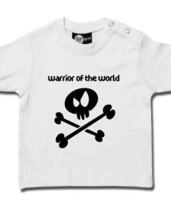 T-shirt bébé warrior of the world