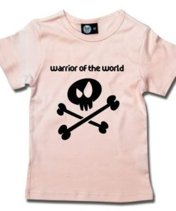T-Shirt Fille warrior of the world