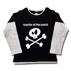 T-shirt skate enfant warrior of the world
