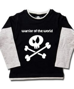 T-shirt skate enfant warrior of the world