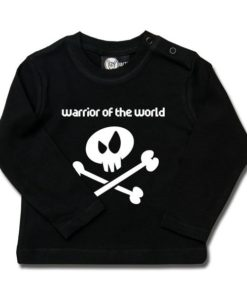 T-shirt bébé manches longues warrior of the world